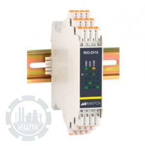 Модуль дискретного ввода 16-ти канальный RIO-DI16  фото 1