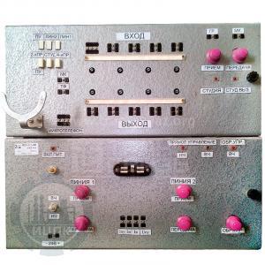 МСС-2-1-2М аппаратура магистральной связи совещаний - лицевая панель
