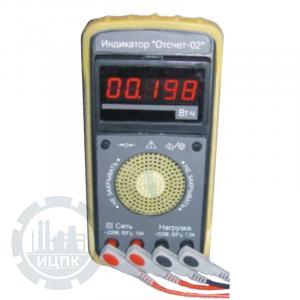 Индикатор Отсчет-02 - внешний вид устройства