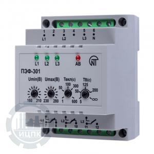 Переключатель фаз ПЭФ-301 - внешний вид устройства