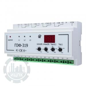 Переключатель фаз ПЭФ-319 - внешний вид устройства