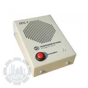 Пульт громкоговорящей связи ПГС-1-100 - фото