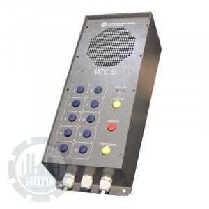 Пульт громкоговорящей избирательной связи ИТС-5 - фото