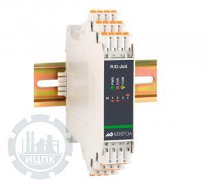 Модуль аналогового ввода унифицированных сигналов 4-х канальный RIO-AI4  фото 1