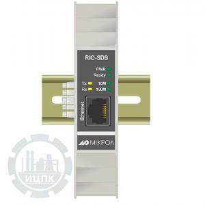 RIO-SDS Преобразователь интерфейсов RS-485 в Ethernet  фото 1