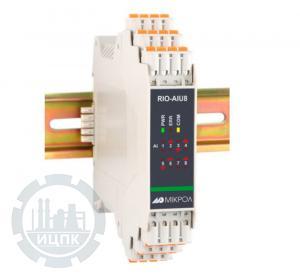 Модуль аналогового ввода 8-ми канальный RIO-AIU8  фото 1