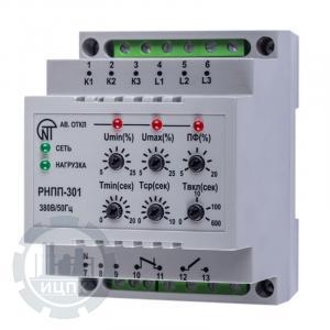 Реле напряжения РНПП-301 - внешний вид устройства