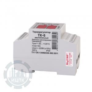 Маркировка терморегулятора ТК-6