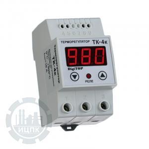 Внешний вид терморегулятора ТК-4к