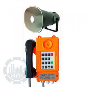 Внешний вид телефонного аппарата ТАШ-21П-IP