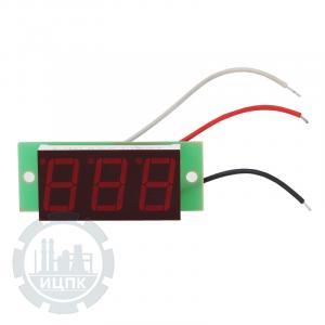 Вольтметр ВПТ-0,56 от 0 до 100В встроенный фото 1